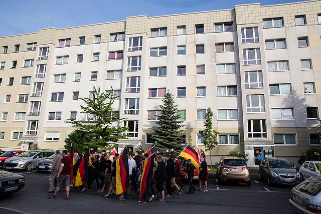 17. Juni 2017: Naziaufmarsch in Niedersedlitz