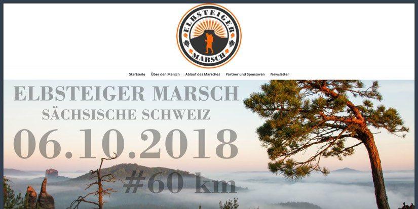 """Nazis beim """"Elbsteiger Marsch"""""""