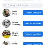 Facebook Freunde von Florian Rosenkranz (Auswahl)