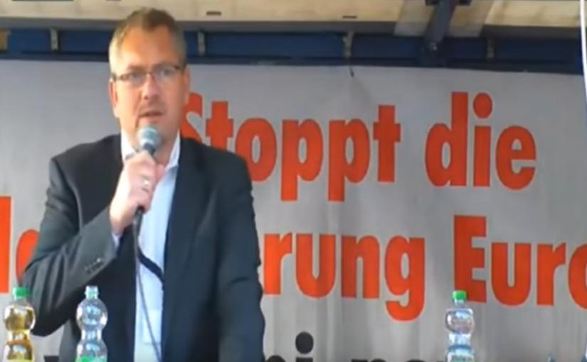 Frank Hannig: Rassistischer Einheizer