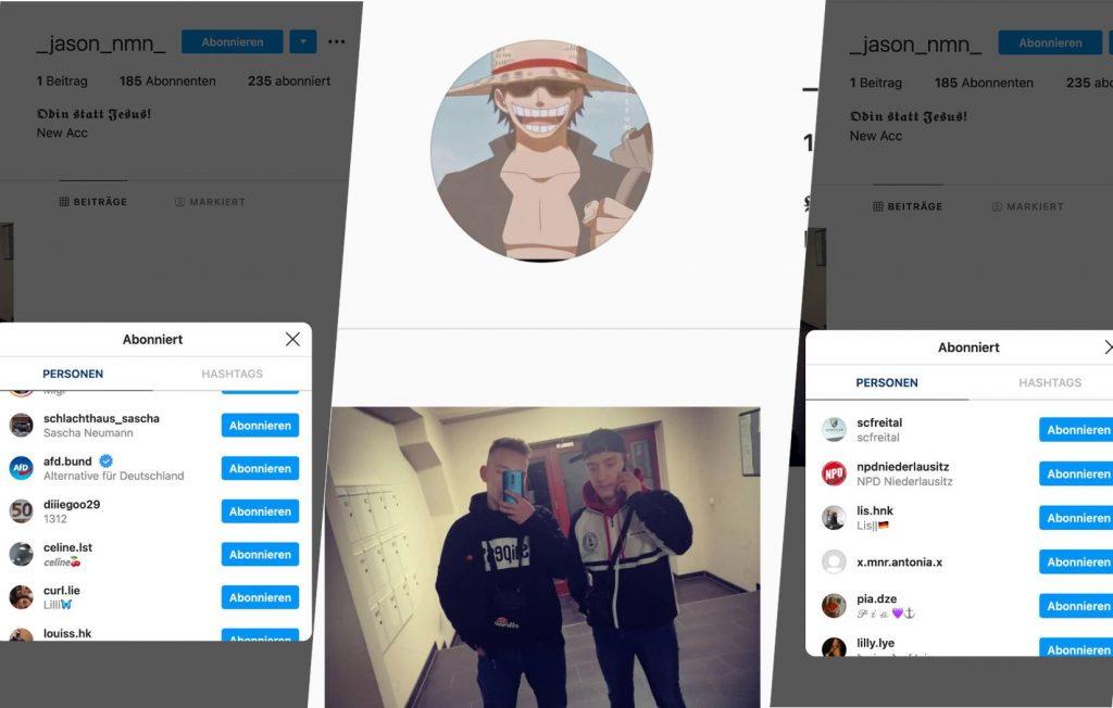 Instagram Profil von Jason Neumann